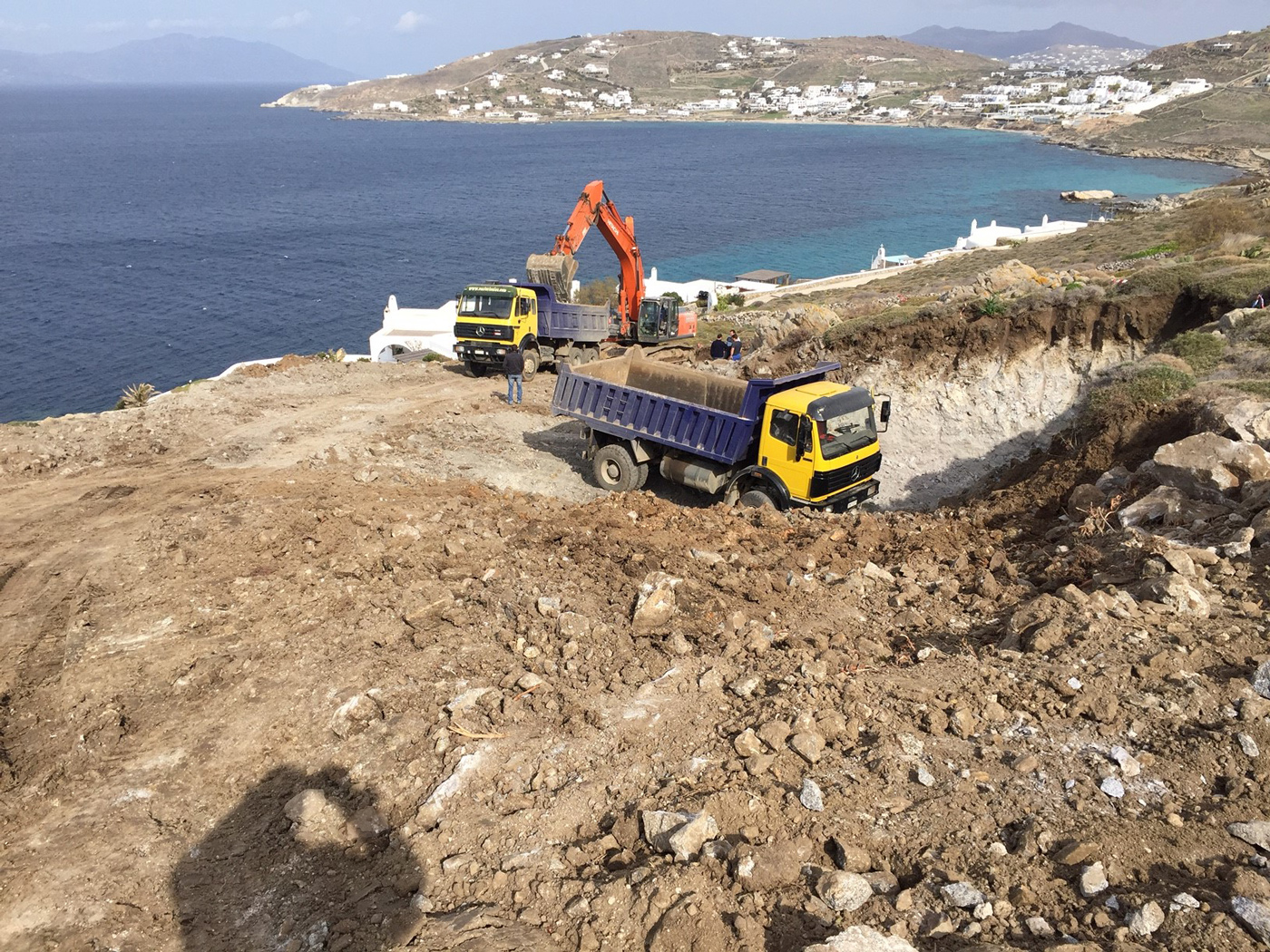 Thumbnail for Breaking Ground on Mykonos Island