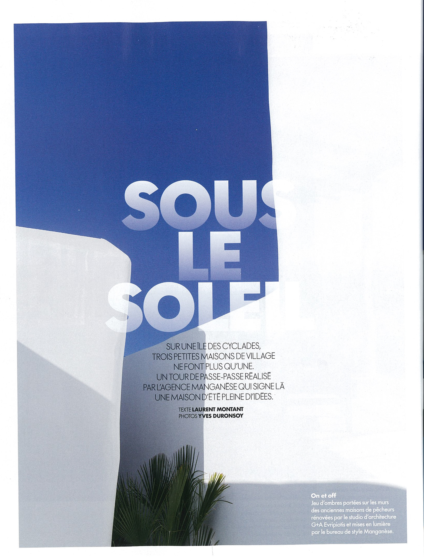 Thumbnail for Unfolding Courtyard House on French ELLE Deco