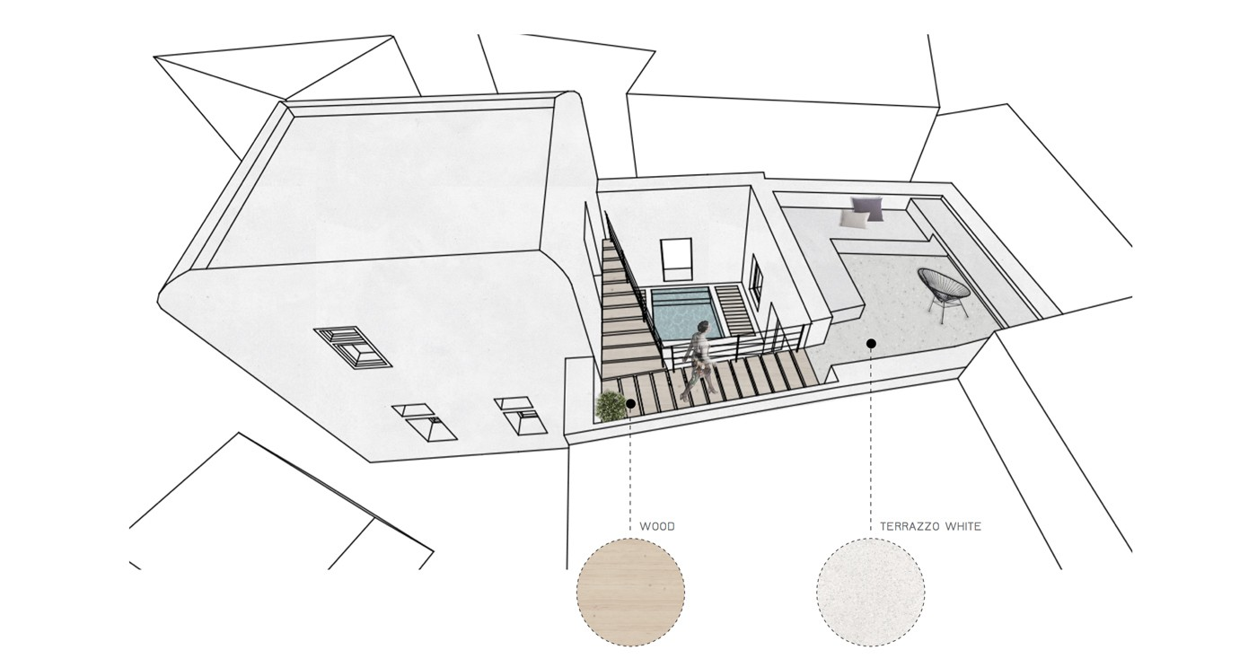 Thumbnail for Residential--Unfolding Courtyard House